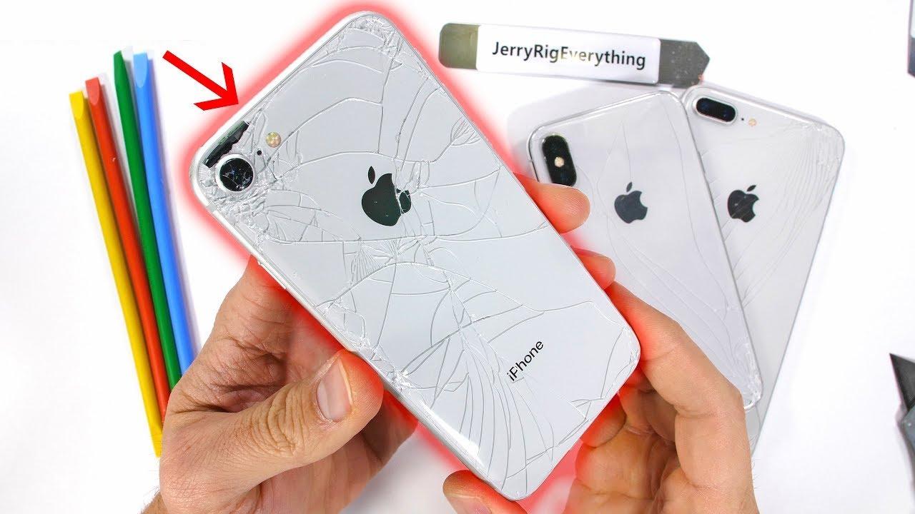 счупено задно стъкло на iphone